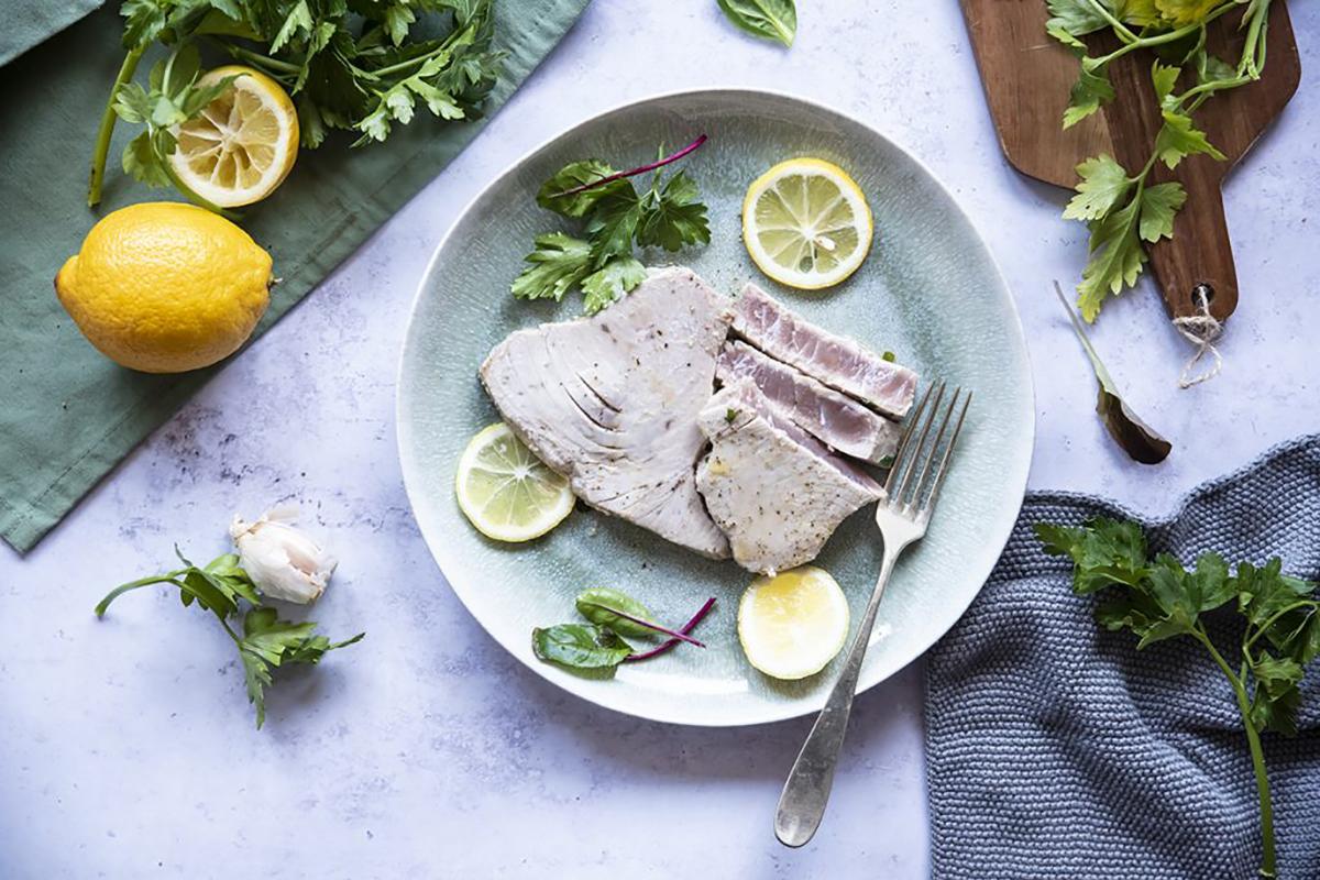 ricette di pesce tonno alla piastra