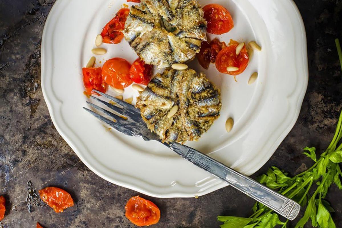 ricette di pesce tortino alici