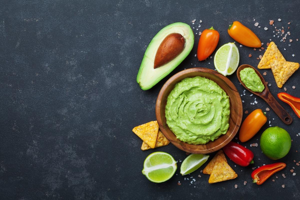Salse light: guacamole