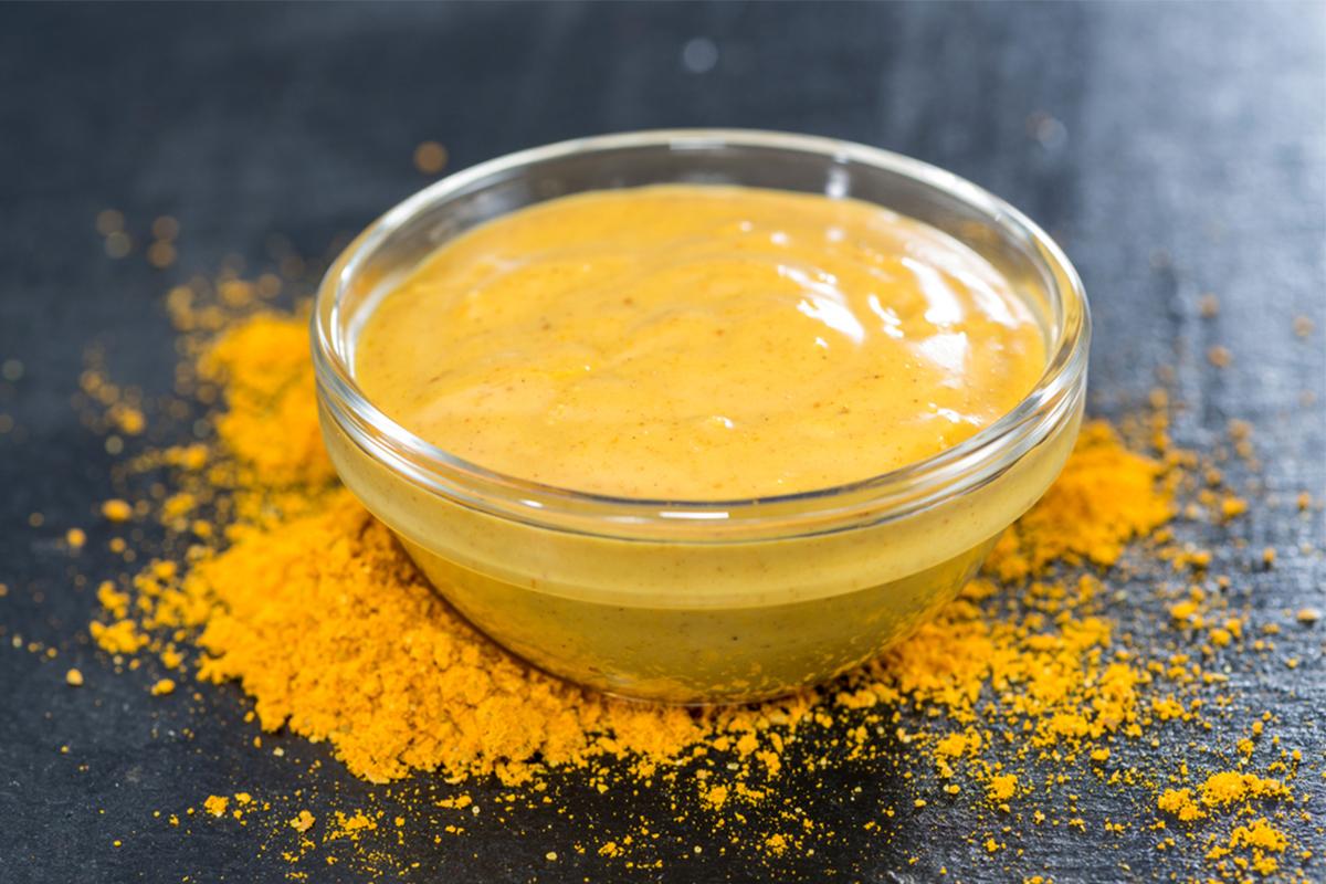 Salse light: salsa al curry