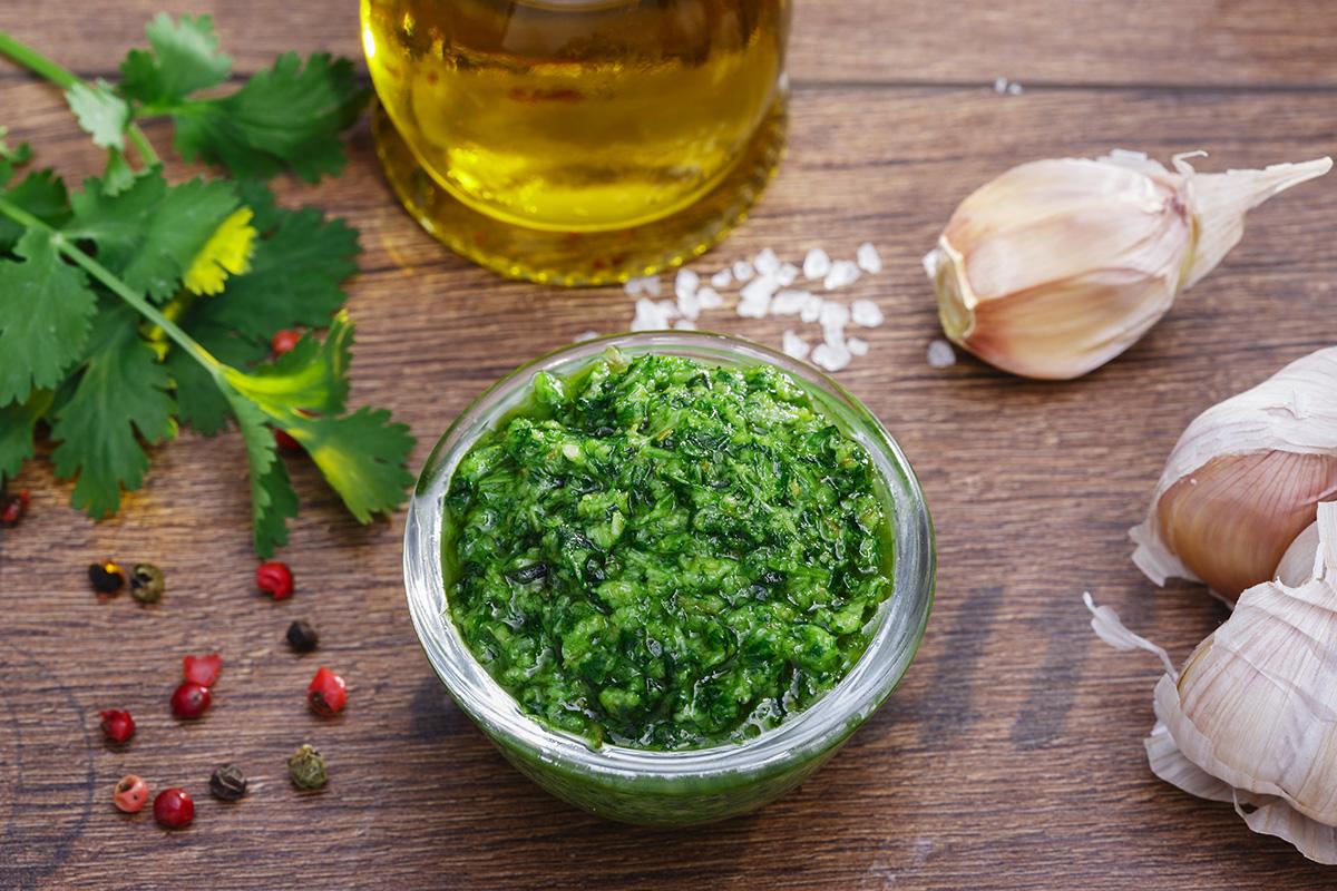 Salse light: salsa verde