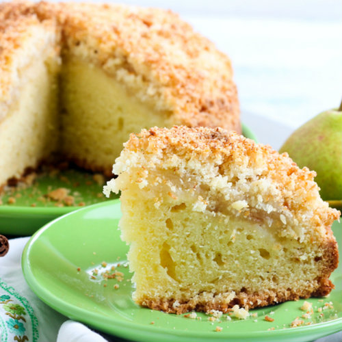 torta pere cocco