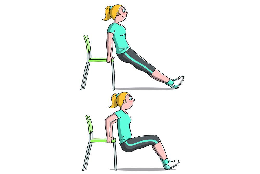 allenamento 7 minuti: braccia