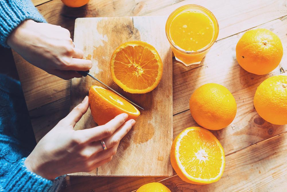 arancia benefici microbiota intestinale