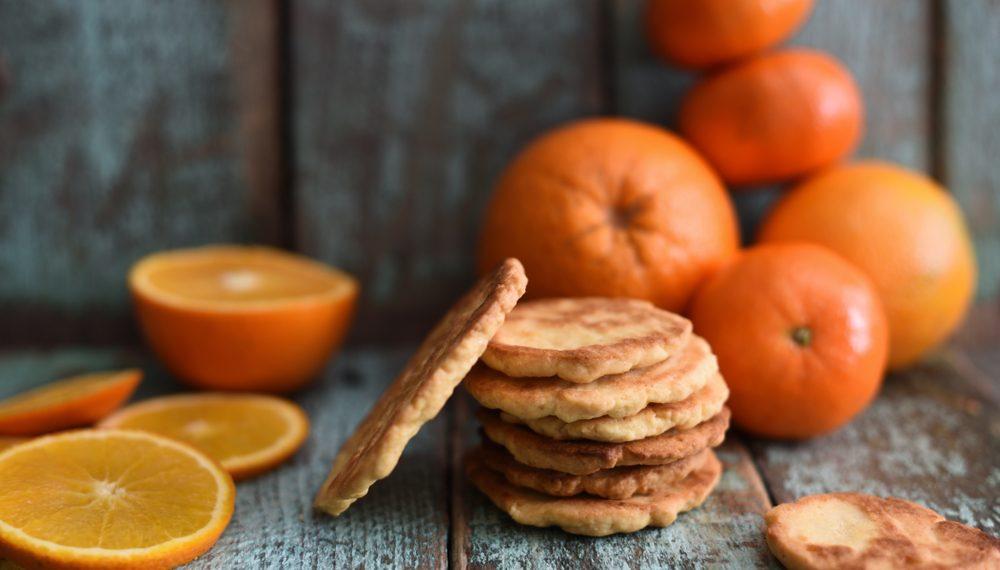 biscotti per il tè alle clementine