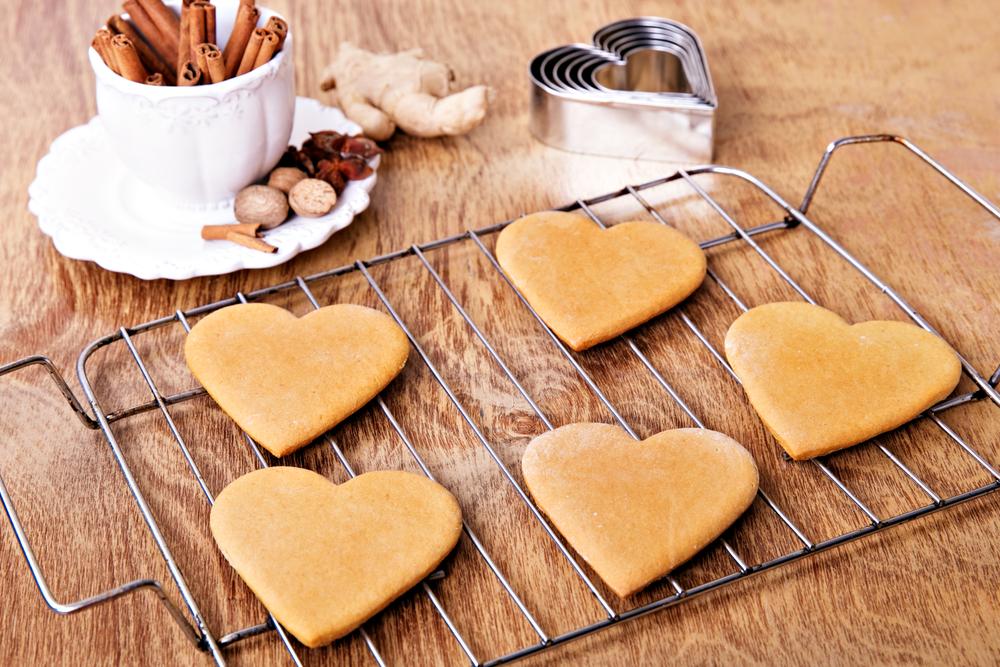 biscotti per il tè allo zenzero