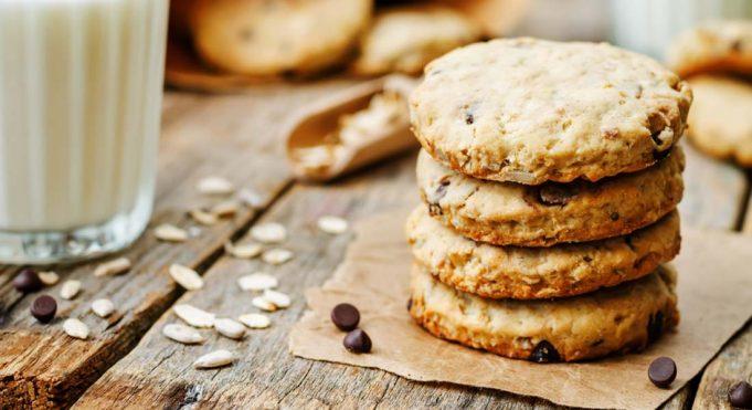 biscotti per il tè con avena