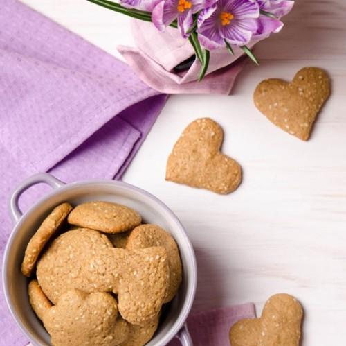 biscotti sesamo noci ricetta