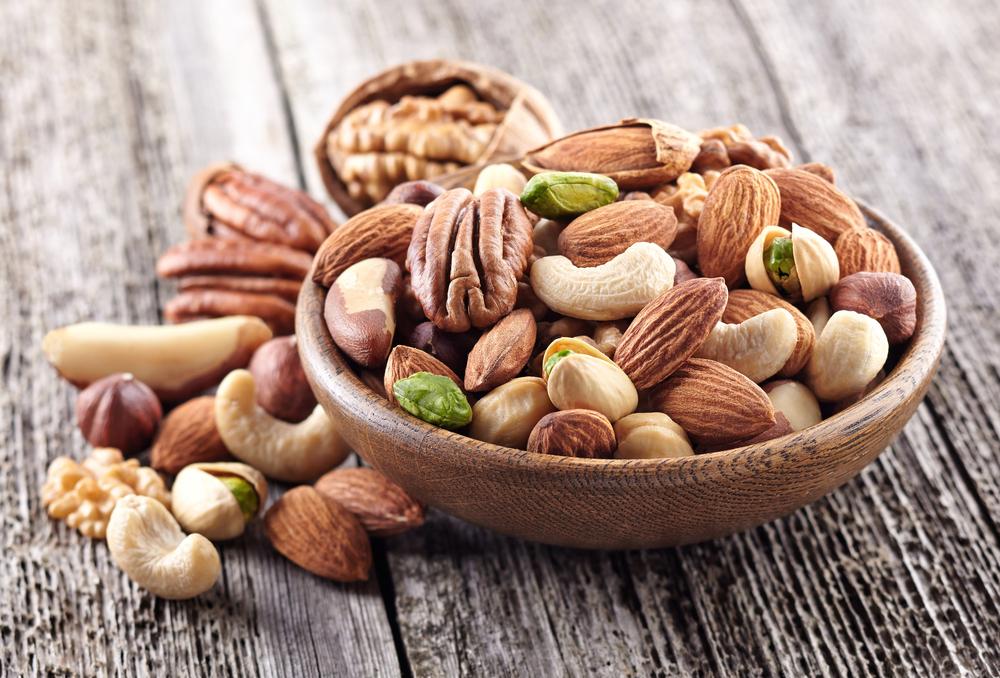 frutta secca, le proprietà nutrizionali