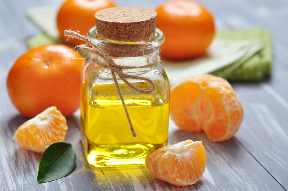 mandarino in cosmesi