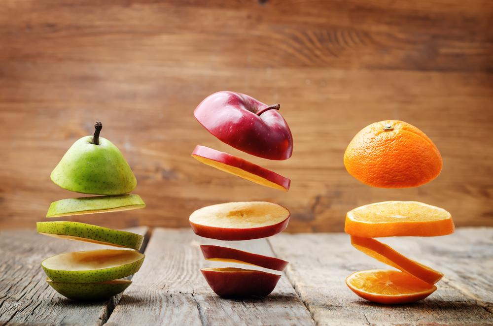 mangiare la frutta