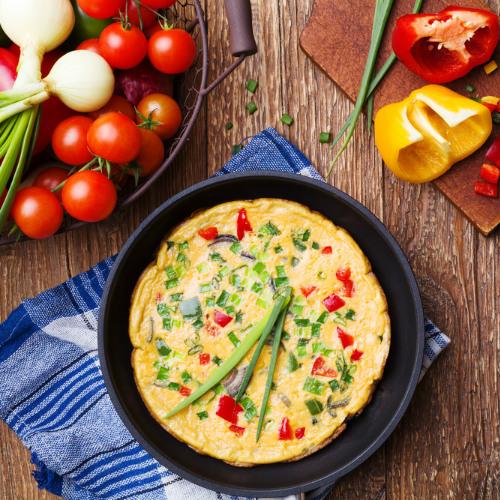 omelette di cipolle