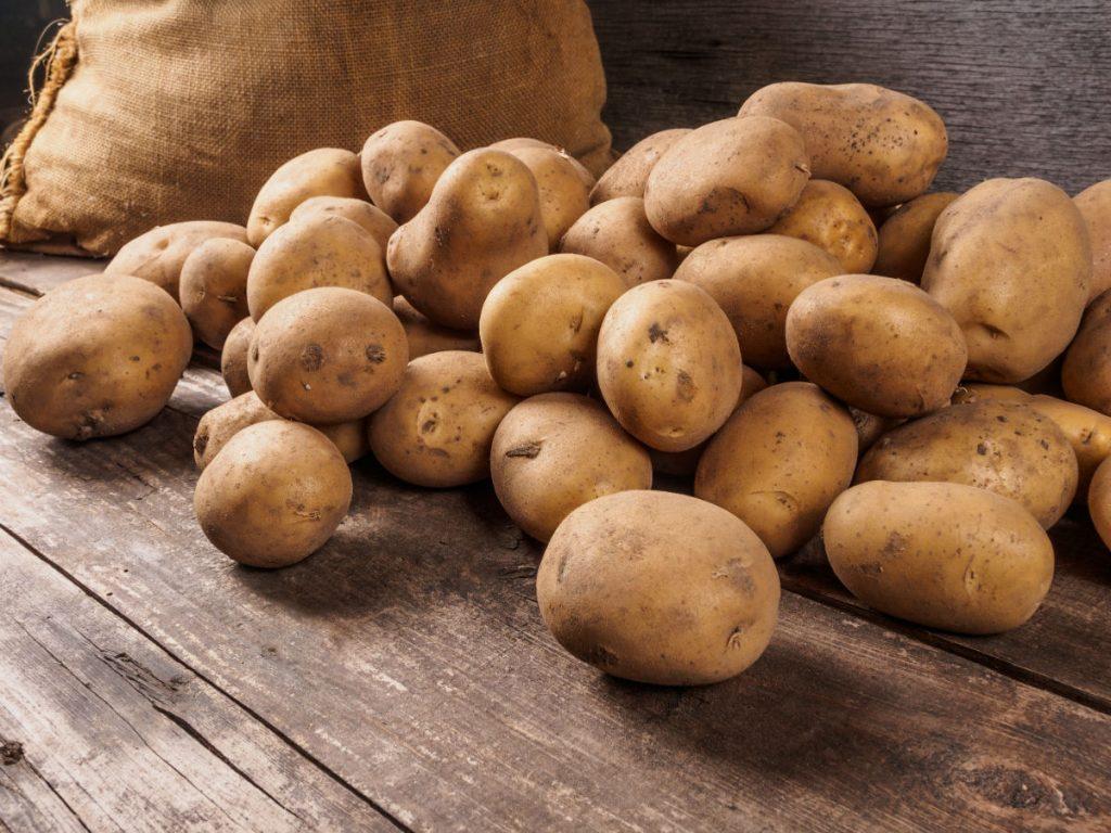 patate, le proprietà