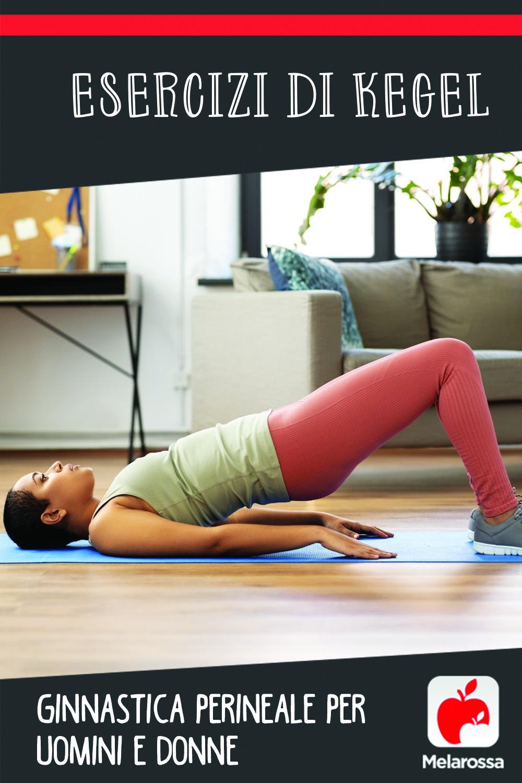 Esercizi di Kegel per il pavimento pelvico