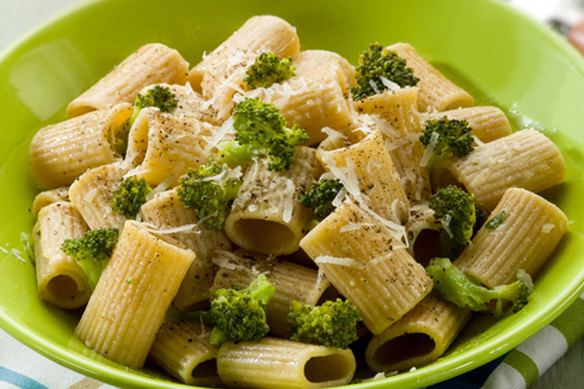 maccheroni con broccoli gratinati ricetta