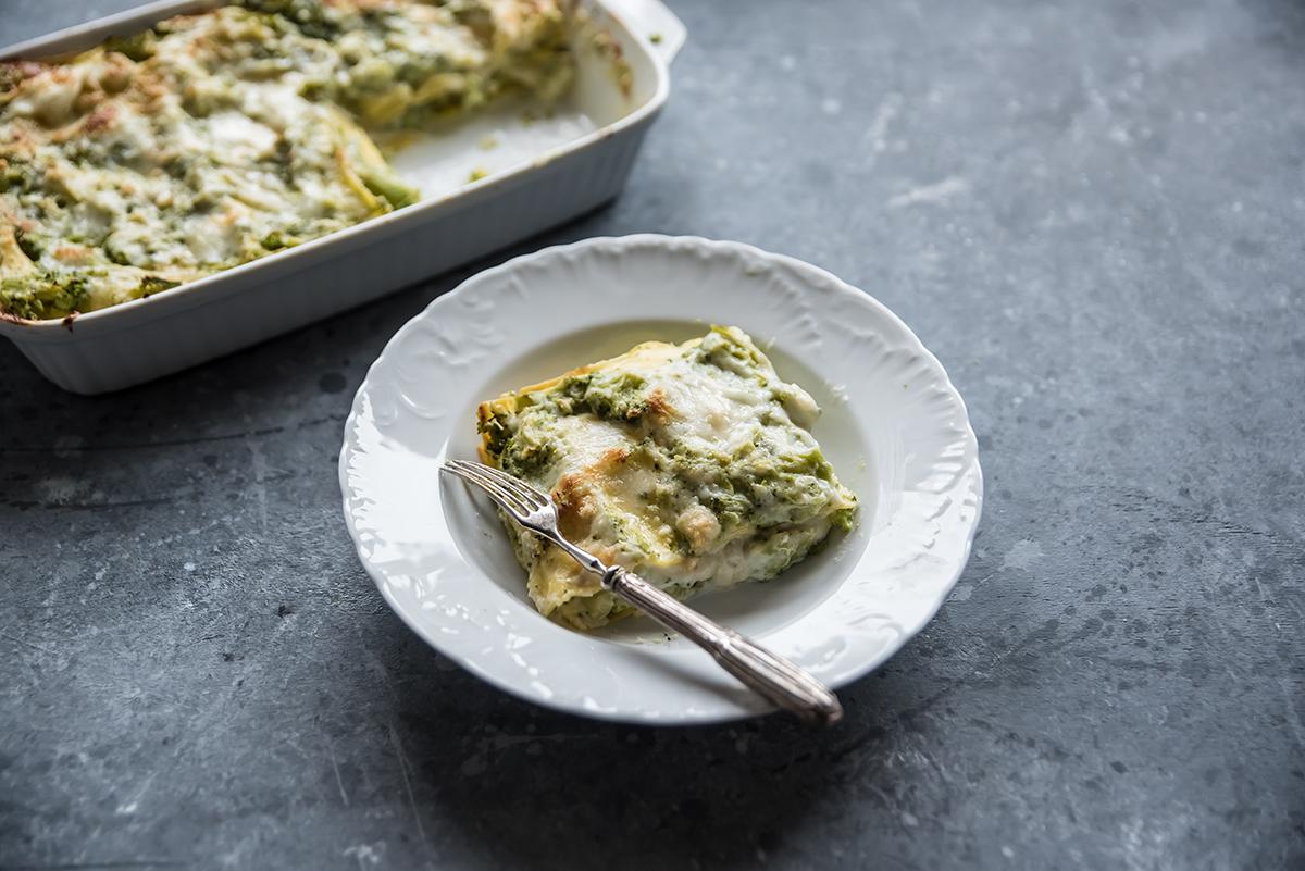 Ricette con i broccoli: lasagne