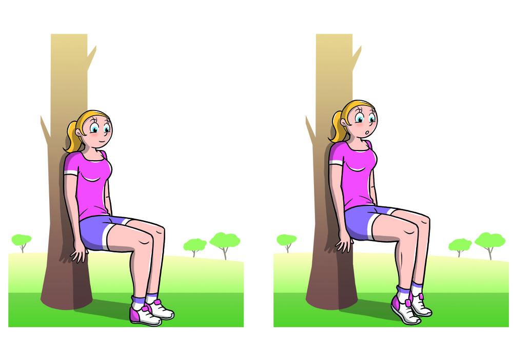riscaldamento muscolare quadricipiti