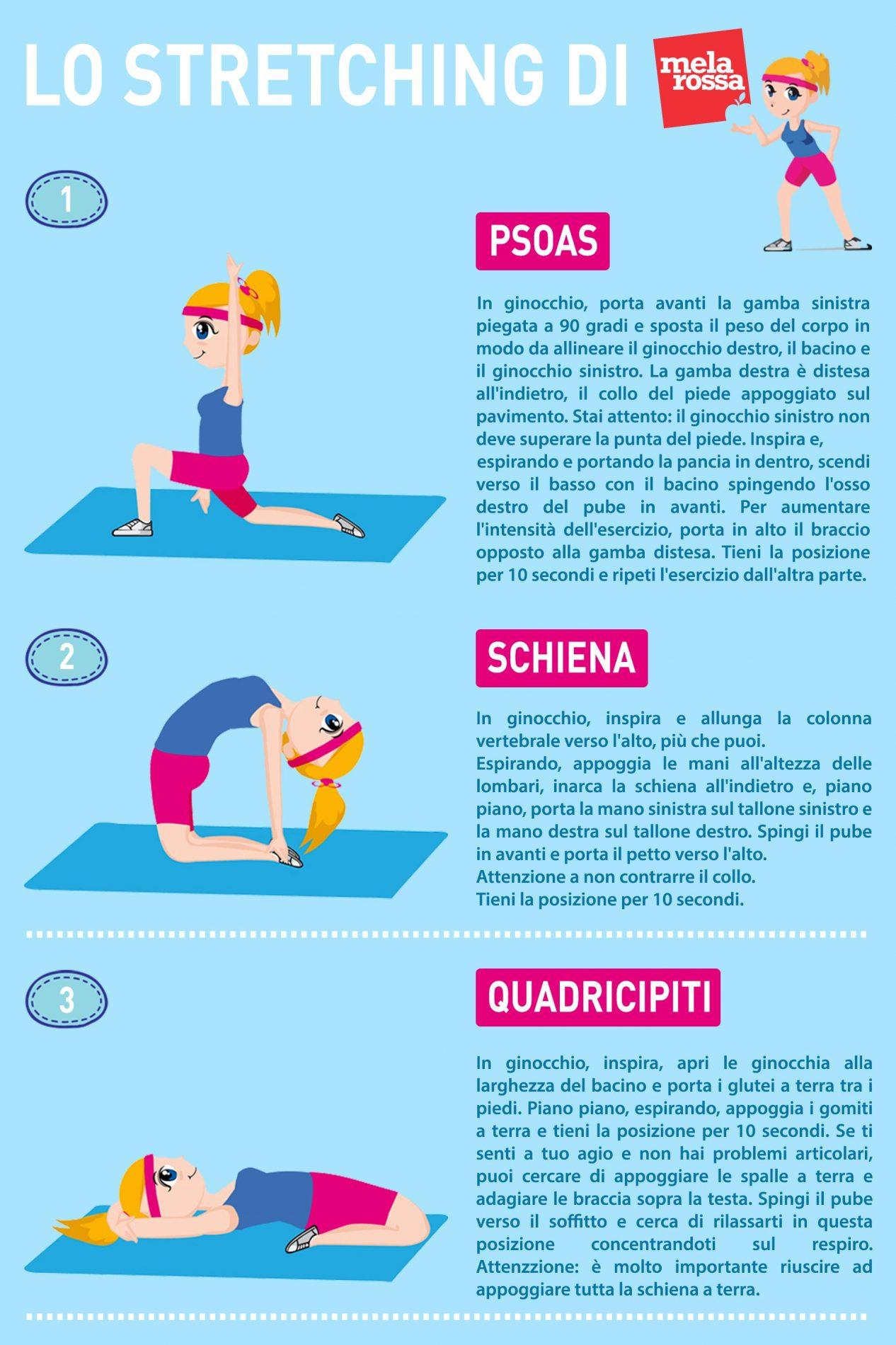 Stretching da fare tutti giorni