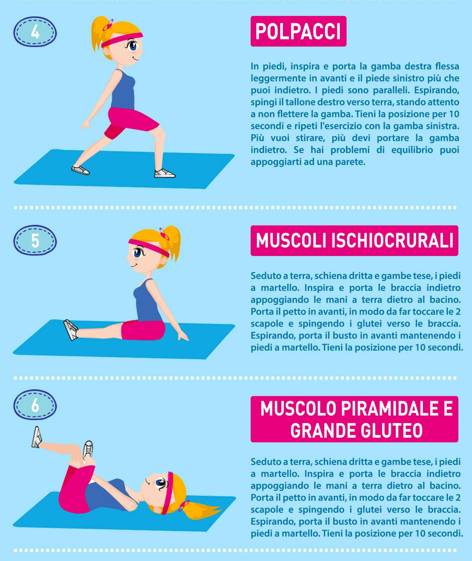 Stretching: benefici