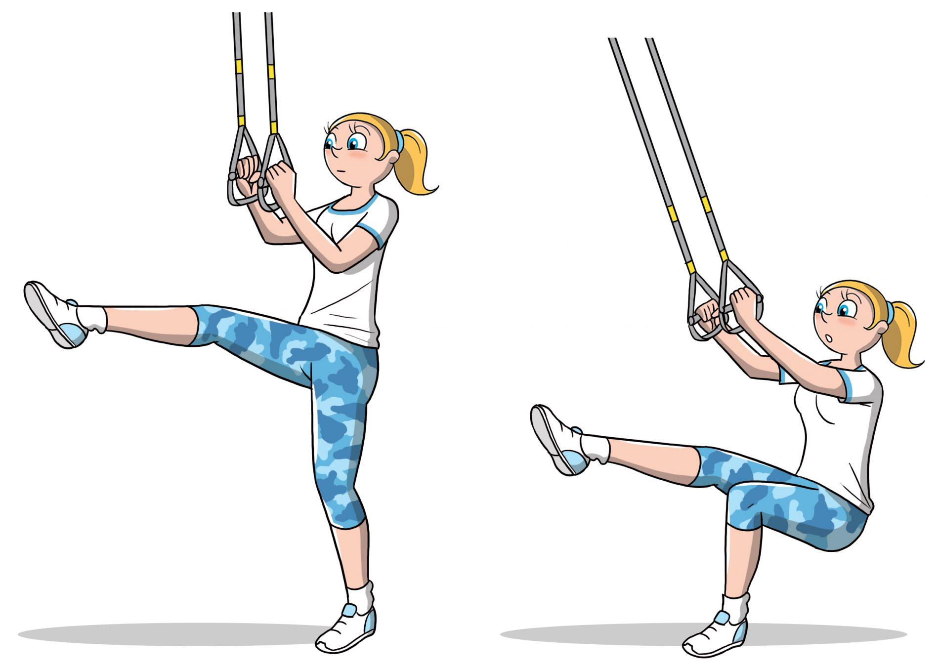 TRX: allenamento