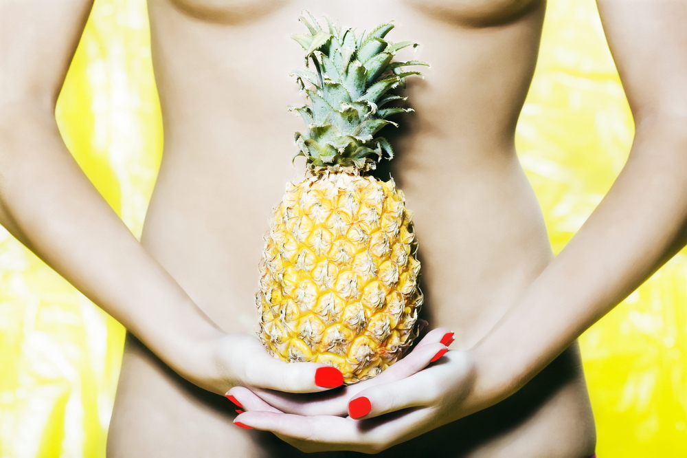 ananas e bellezza