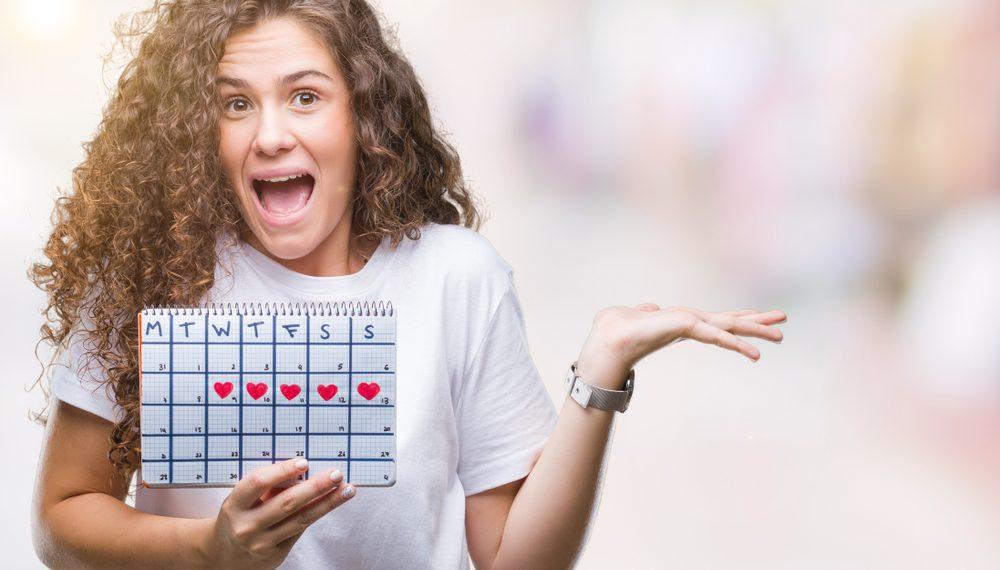 ciclo mestruale nell'adolescenza