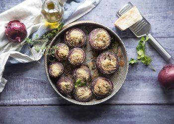 cipolle gratinate: la ricetta light