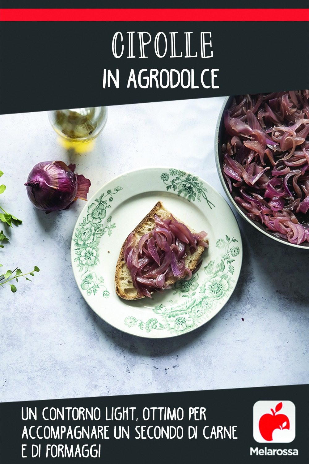 Cipolle in agrodolce