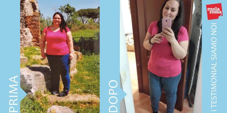 dieta Melarossa: Grazia - 26 kg