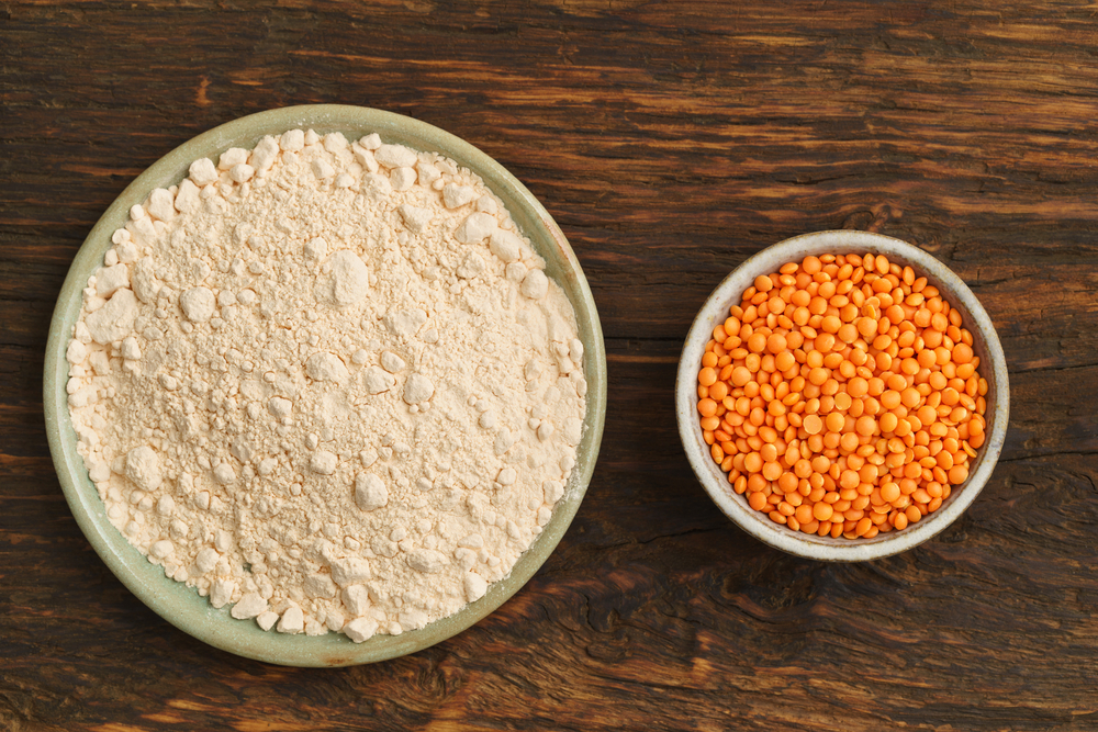 farina di lenticchie