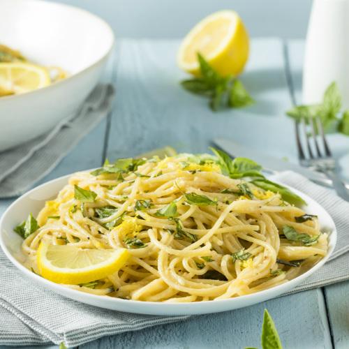 ricetta linguine al limone