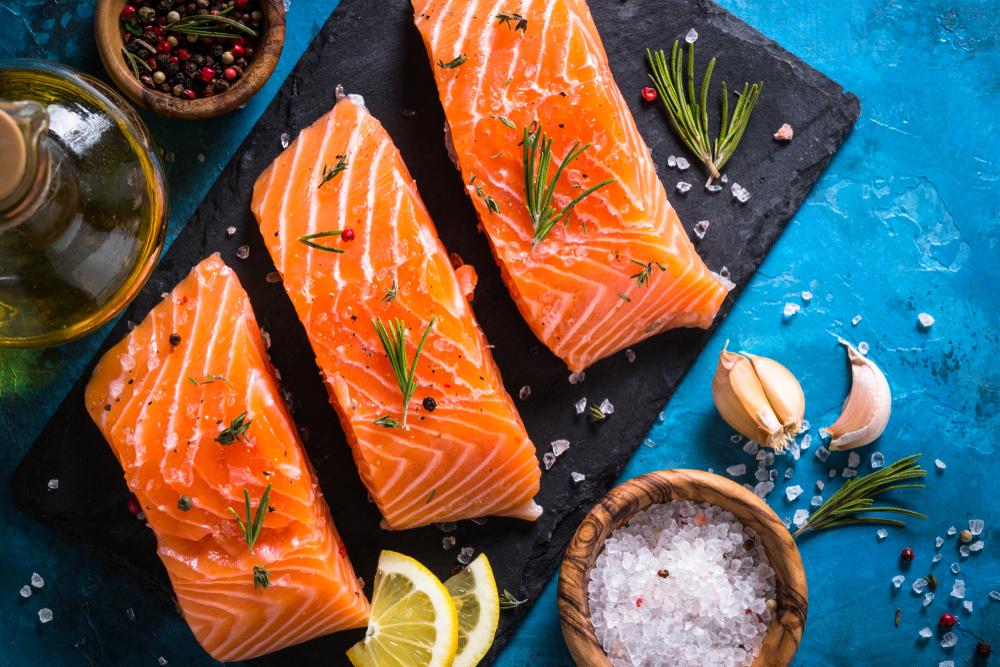 cibi ricchi di omega 3: salmone