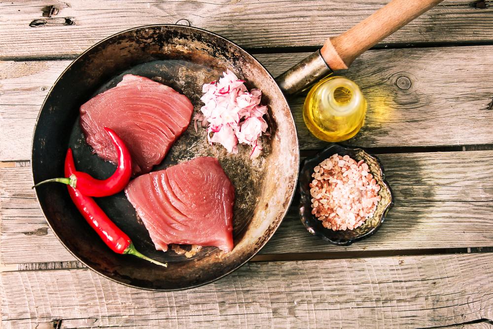 i cibi ricchi di omega 3: tonno