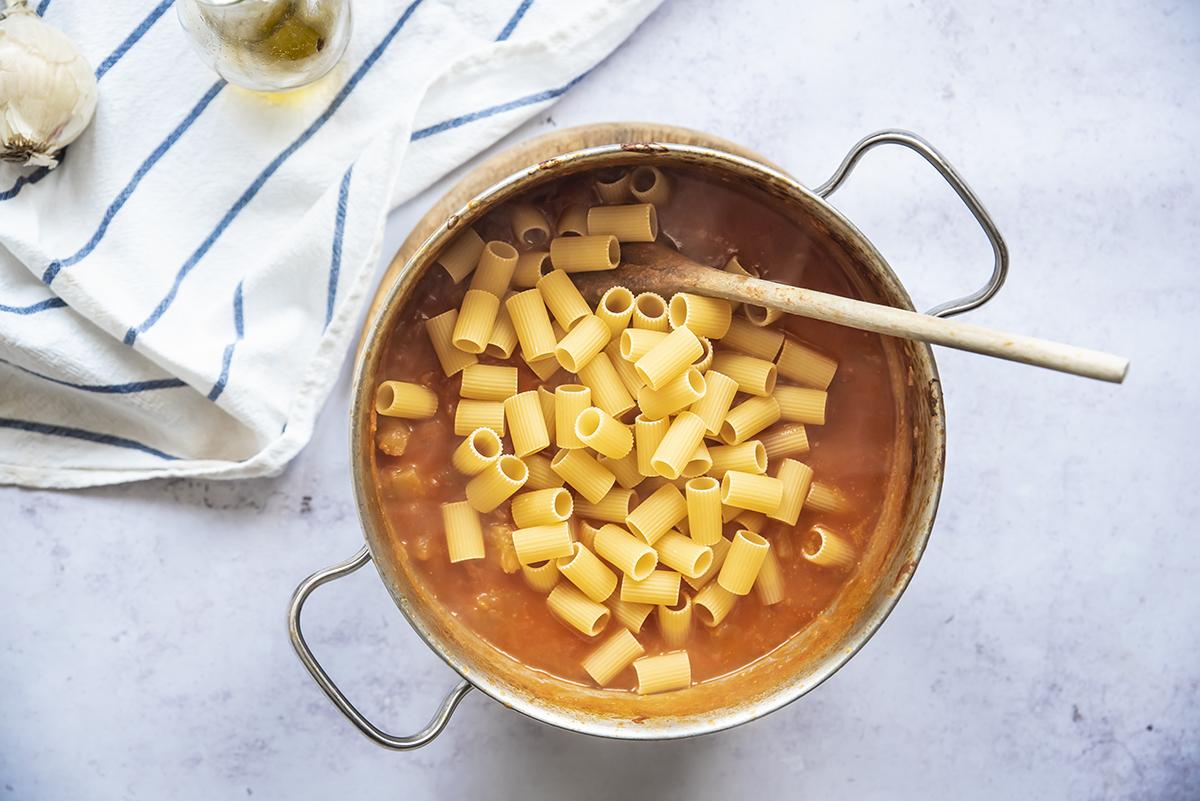 pasta e patate cinque