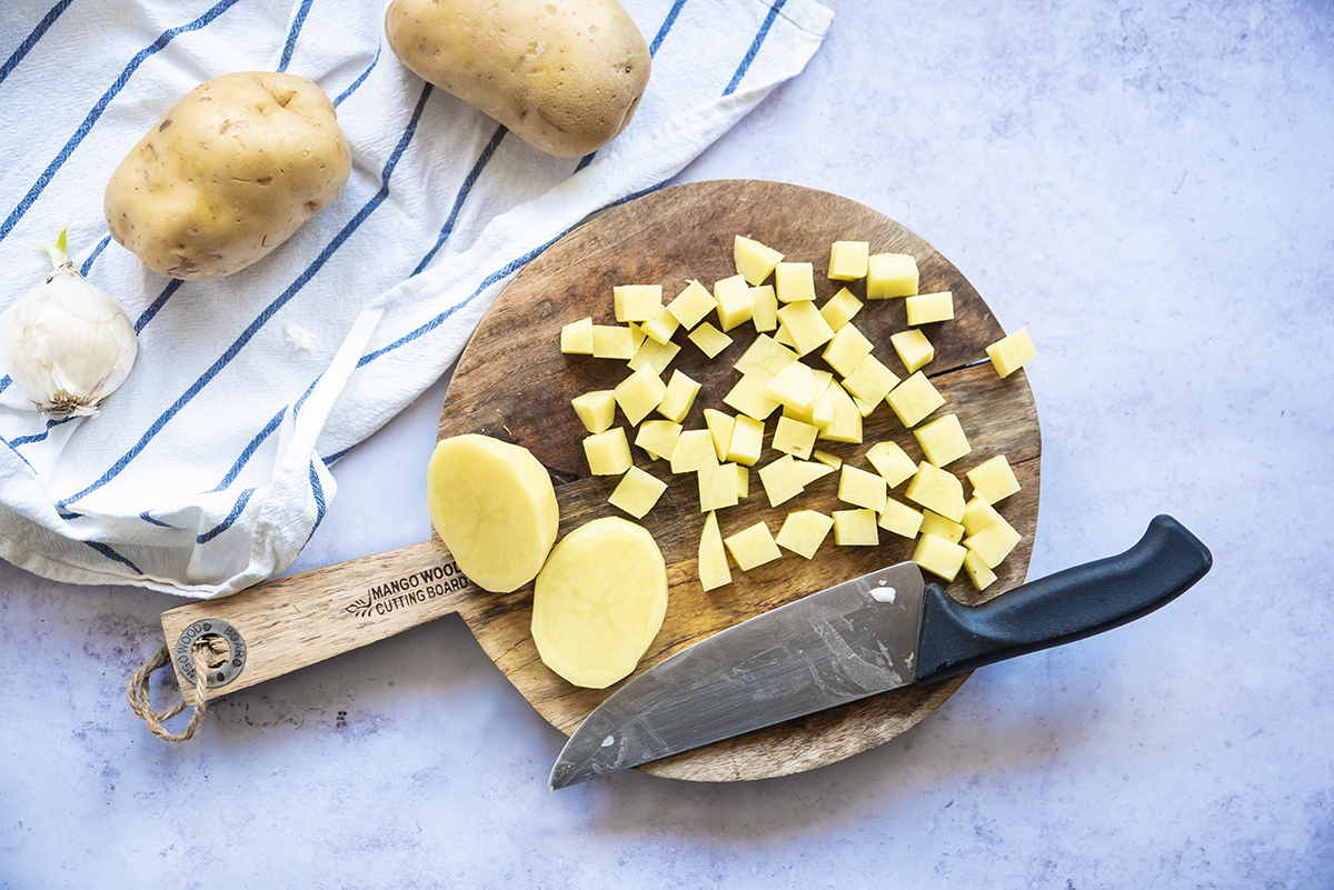 pasta e patate uno