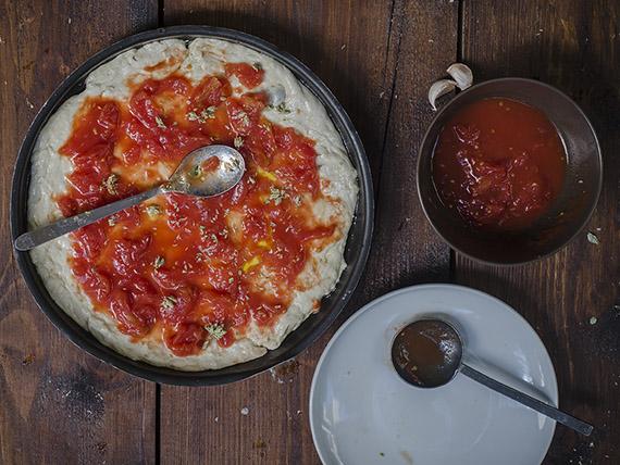 pizza marinara stendi pomodoro