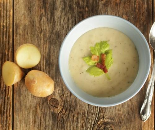 ricetta zuppa patate