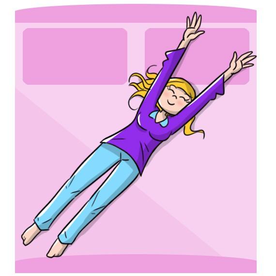 stretching da fare a letto