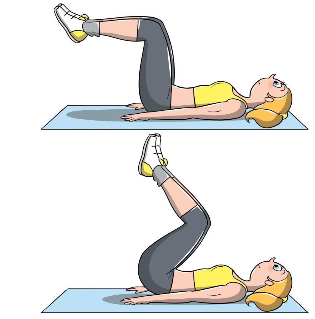 allenamento a corpo libero per gli addominali