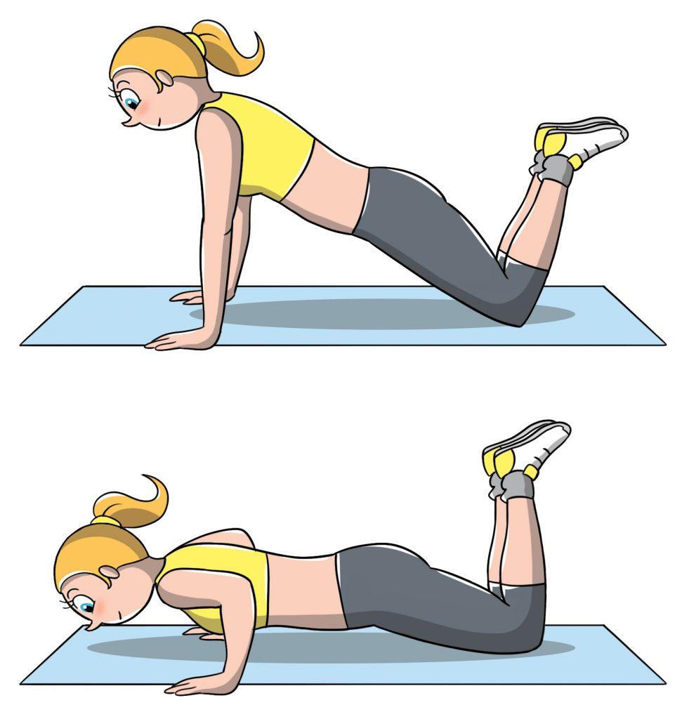 allenamento a corpo libero per le braccia