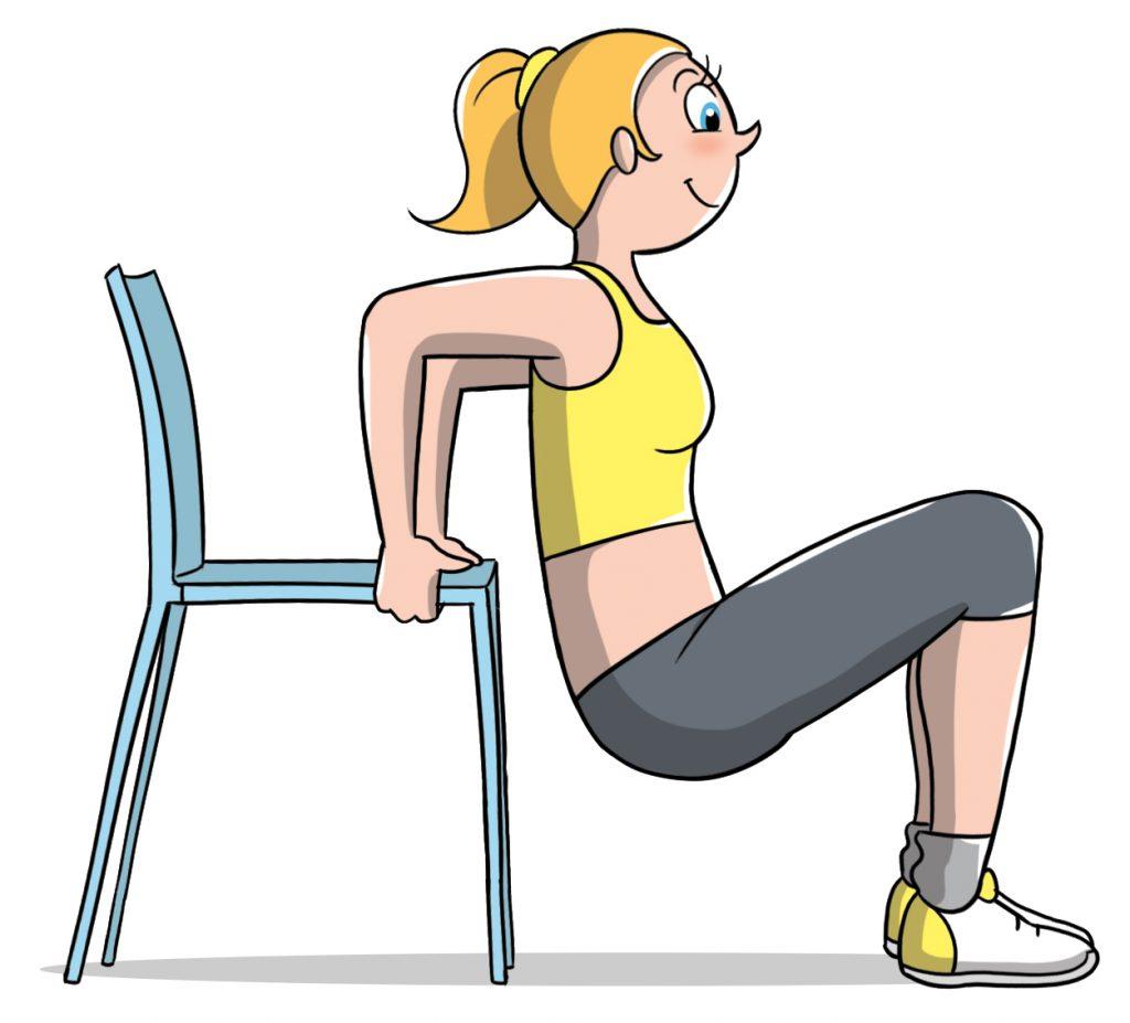allenamento a corpo libero per i tricipiti