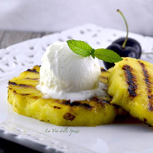 ananas grigliato