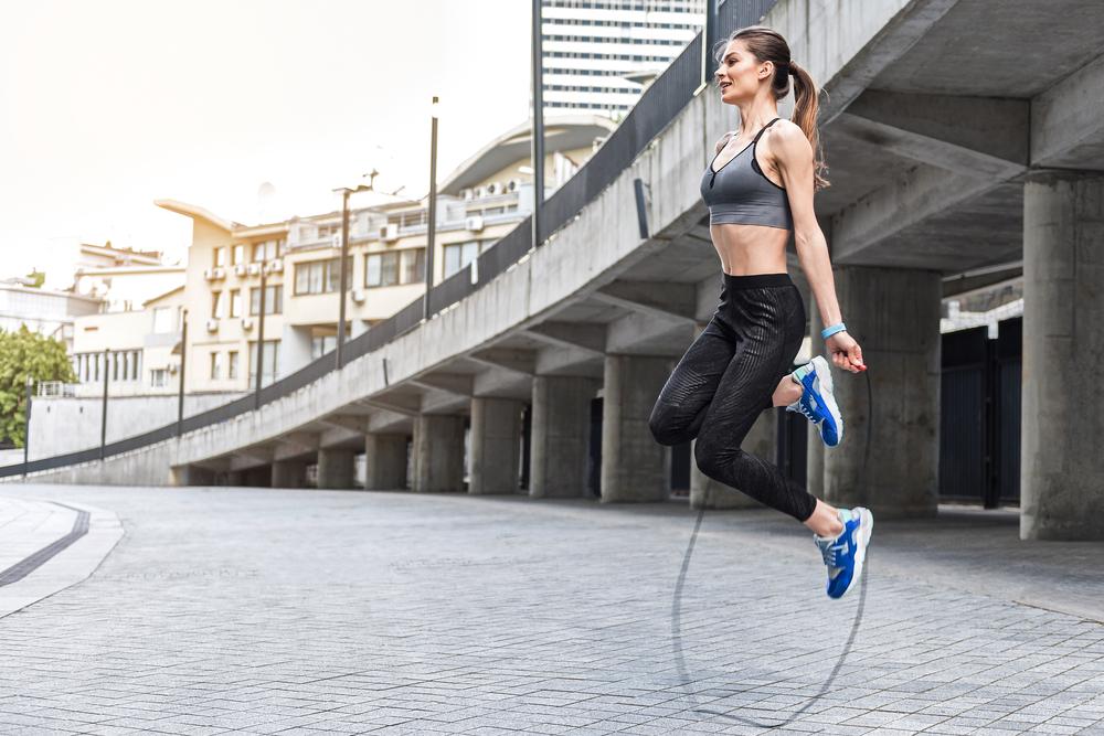 corda per saltare: circuito training per dimagrire