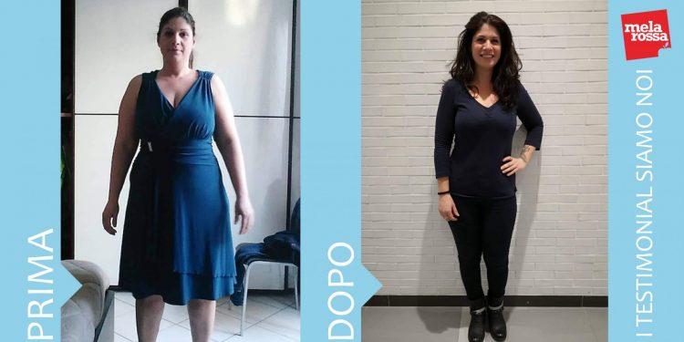 Anna Graziano: - 26 chili con la dieta Melarossa