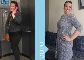 Dieta Melarossa: Giordana - 11 chili