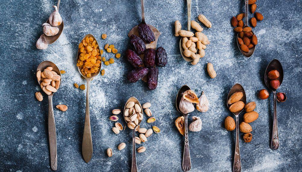 frutta secca: i benefici e le ricette