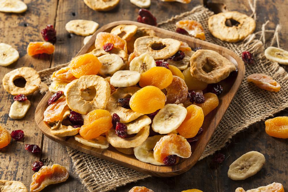 frutta secca, disidratata
