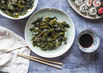 Insalata di alghe wakame