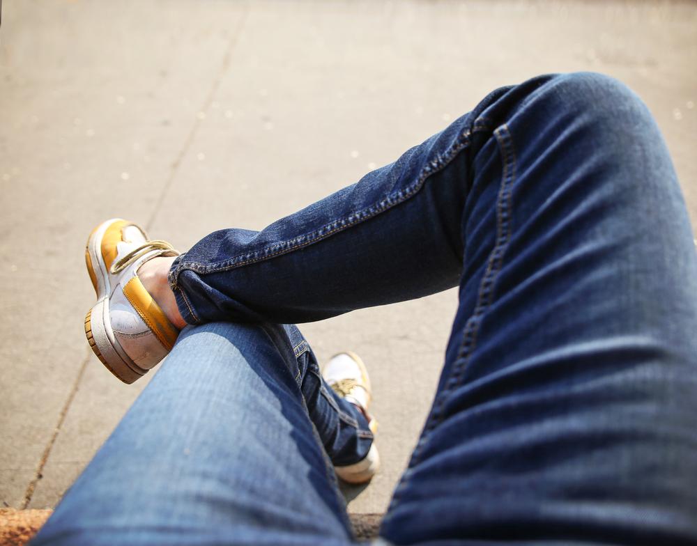 linguaggio del corpo: le gambe