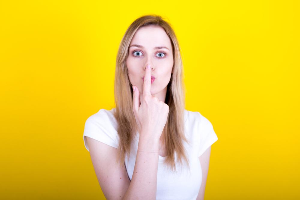 linguaggio del corpo: naso